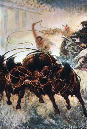 Could even the chariot race save it?