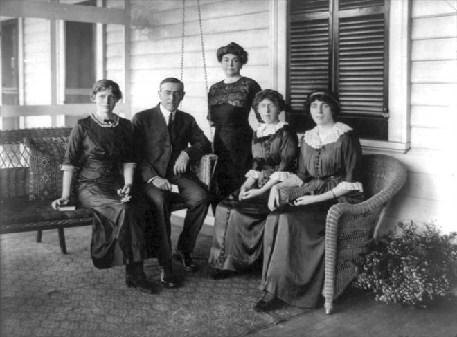 The Wilson Family (via Wikipedia)
