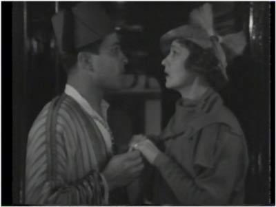 Jamil (Ramon Novarro) puts the moves on Hedda Hopper.