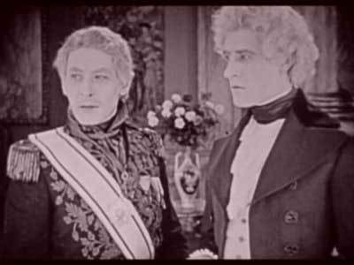 The Count (right) is out for revenge and will brave Fernand, danger and bad wigs to get it.