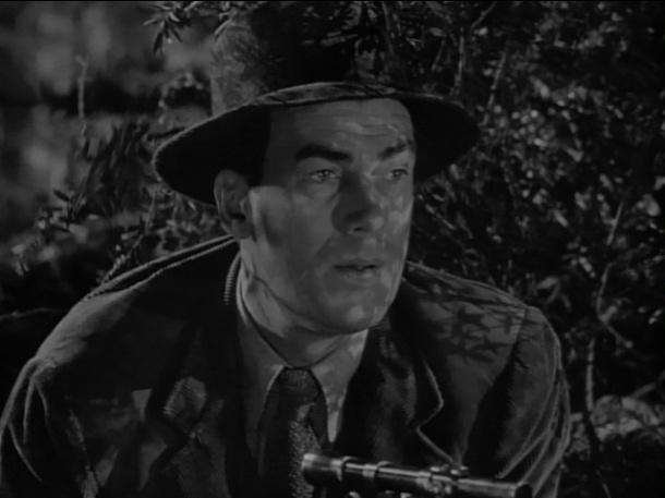 Walter Pidgeon in MAN HUNT.