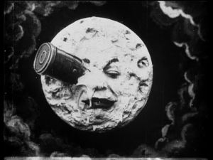 A REAL iconic image of silent film.