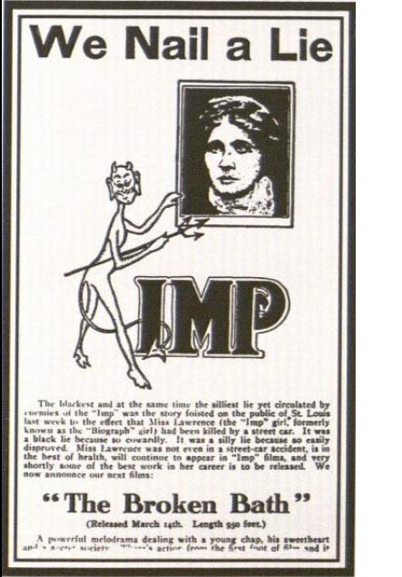 The famous IMP ad.