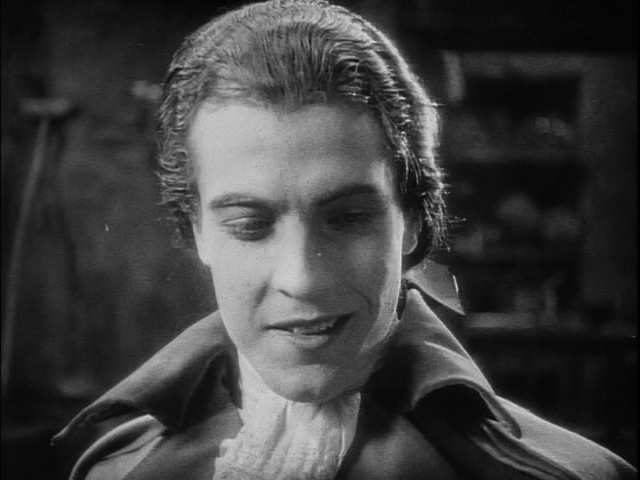 "Ramon Novarro demonstrates that famous ""gift of laughter."""
