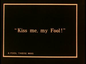 One of the most famous title cards in the history of cinema.