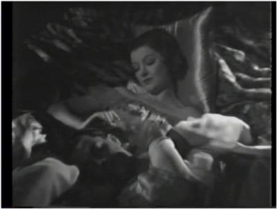 Ramon Novarro and Myrna Loy enjoy a romantic moment in The Barbarian
