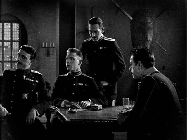 Duke Michael (far left) and three of his four main henchmen.