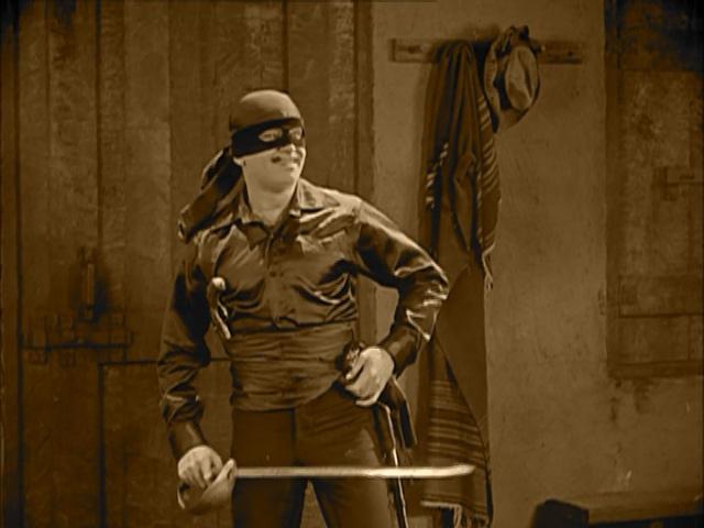 Enter Zorro!