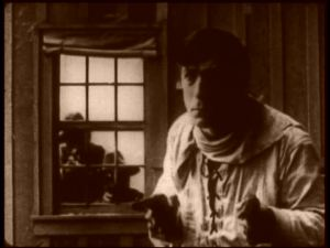 """The Bargain"" William S. Hart's first feature film was released in 1914."