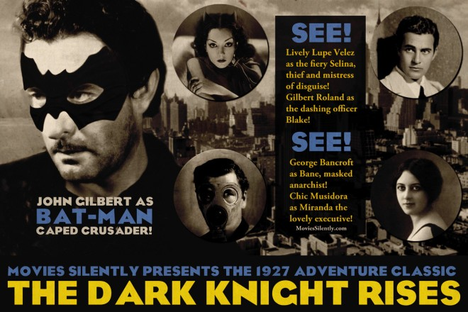 Silent Dark Knight Rises Silent Movie