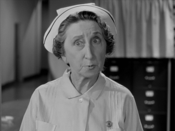 Vera Lewis as Miss Sweetman in The Return of Dr. X