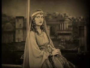 "In costume for ""Ben-Hur"""