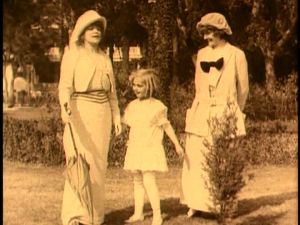 The Wife, the Sister and the Child, per the movie's credits.