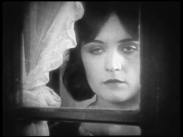 Pola Negri watches the Germans.