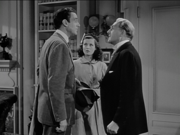 Thorndyke and Jerry go to see a lawyer, played by silent veteran Holmes Herbert.
