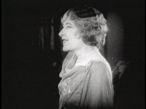 Mildred Harris being a sport.