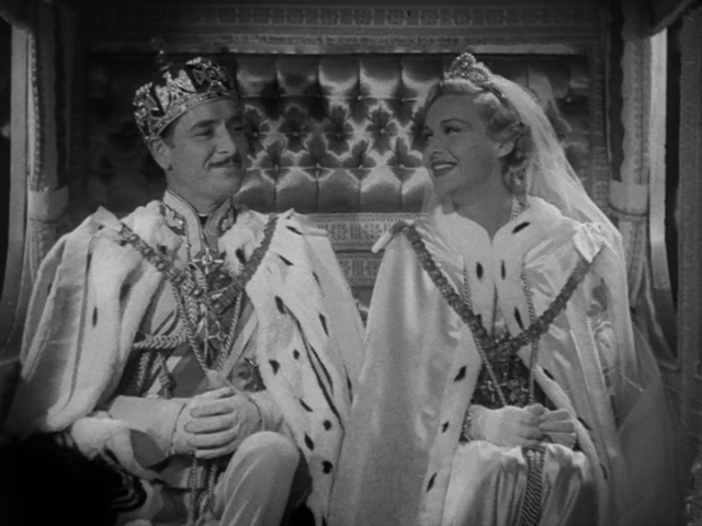 Ronald Colman and Madeleine Carroll