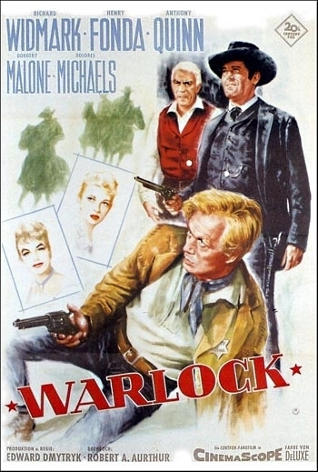 Richard Widmark front and center on this poster.