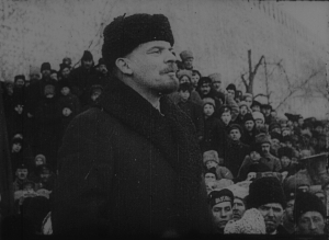Vertov used newsreel footage to tell all-new stories. (image via Flicker Alley)