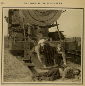 Lordy, silent movies with their dudes in distress!