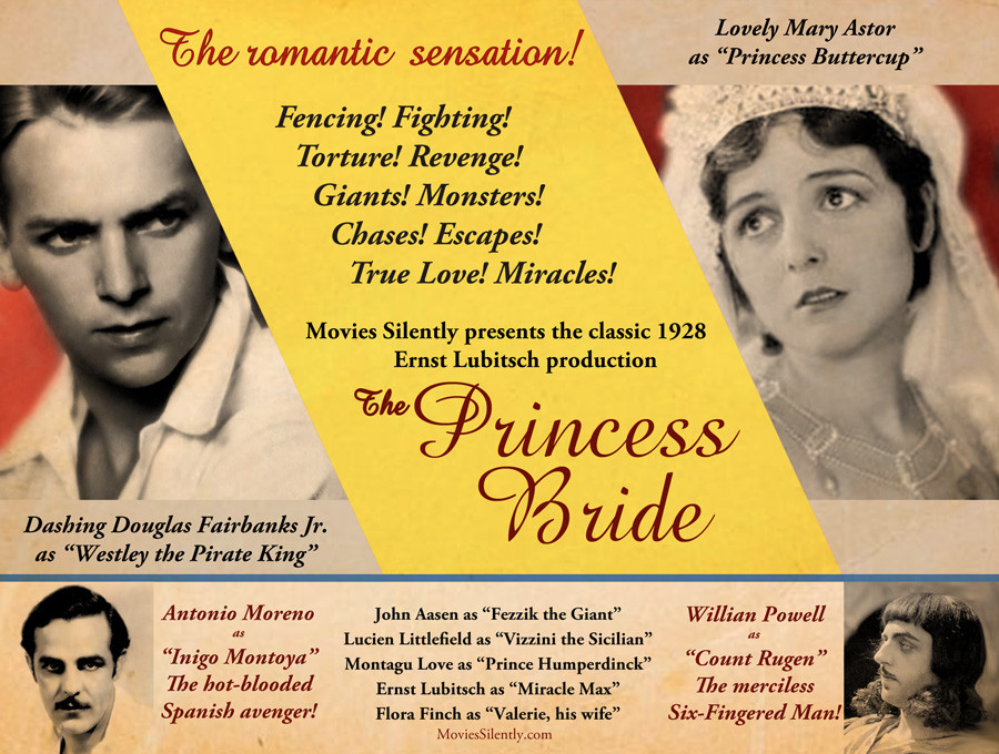 Silent Movie Princess Bride
