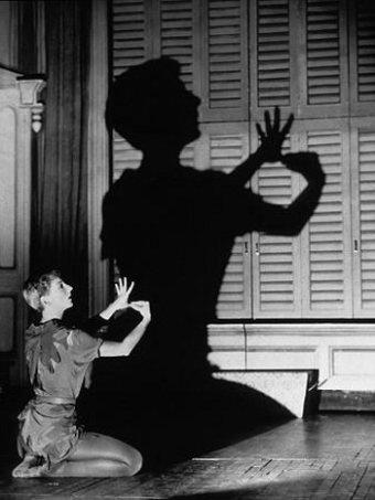Mary Martin's mad shadow puppet skills.
