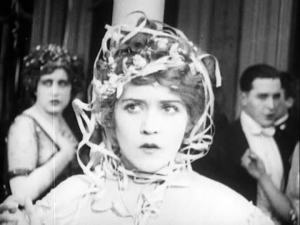 Mary Pickford has an inkling that things may not go well... She's right.