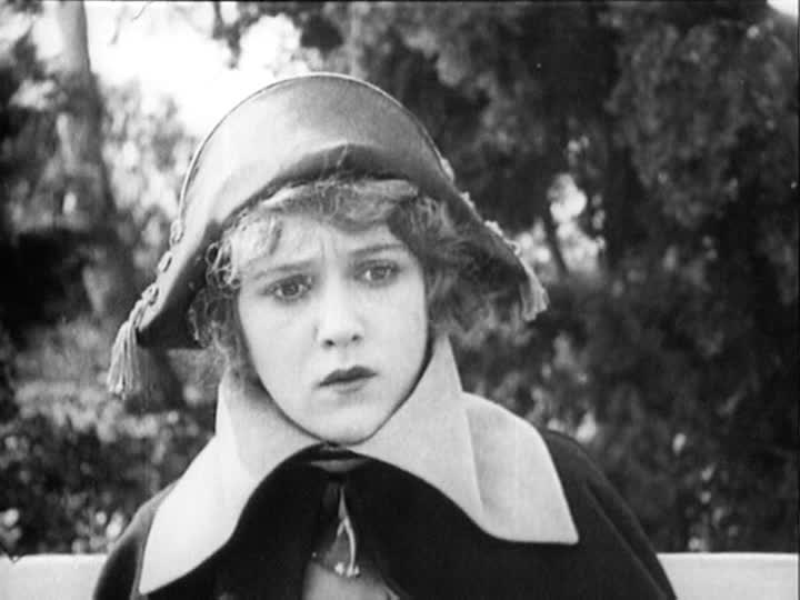 Mary Pickford just got a good look at the script.