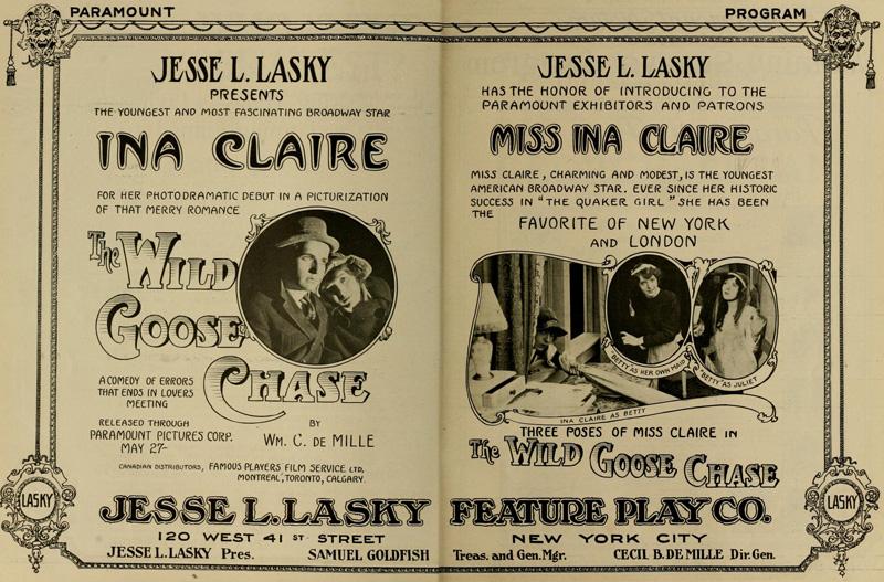 Ina Claire! Ina Claire! Ina Claire!