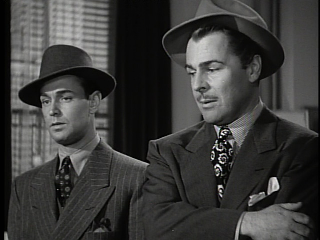 Donlevy and Alan Ladd in The Glass Key.