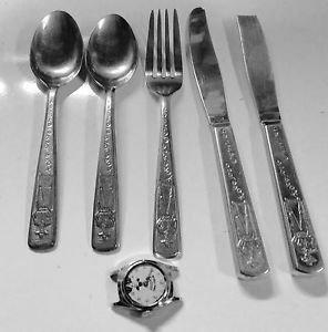 Hoppy flatware! (via eBay)