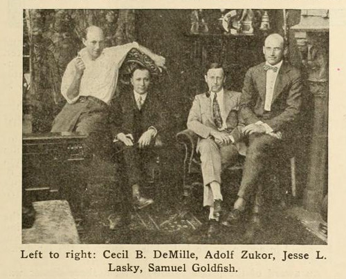 DeMille played with the bigwigs from the beginning.
