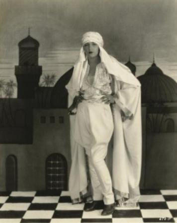 """Bebe Daniels in """"She's a Sheik"""""""