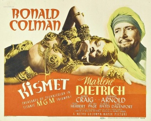 The more famous Dietrich/Dieterle collaboration.