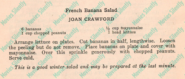 Joan-Crawford-French-Banana-Salad