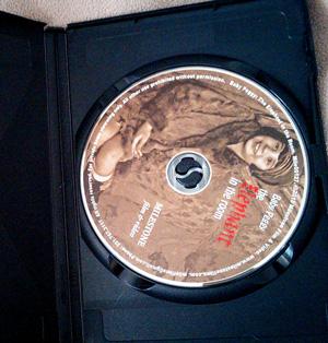 Disc artwork.