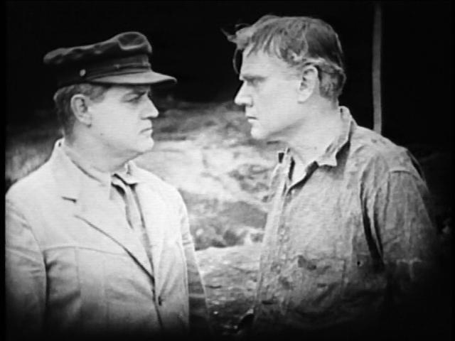 Crane (left) arrests Bevan