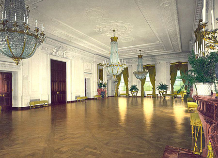The East Room in 1904.