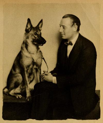 Dexter took to breeding German Shepherds after his return from Europe.