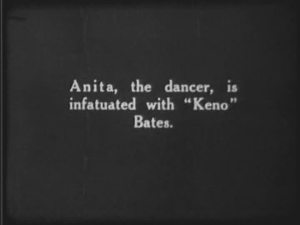 "Anita ""the dancer"" is infatuated with Keno Bates. Fixed it for ya."
