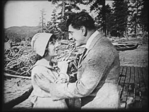 Not-Lillian Gish is dating not-Francis X. Bushman.
