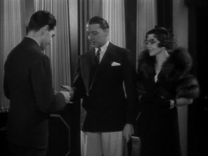 Clive Brook and Claudette Colbert make their cameo appearance.