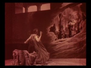 When you're in a silent movie, double exposed images appear on your walls. You learn to accept it.