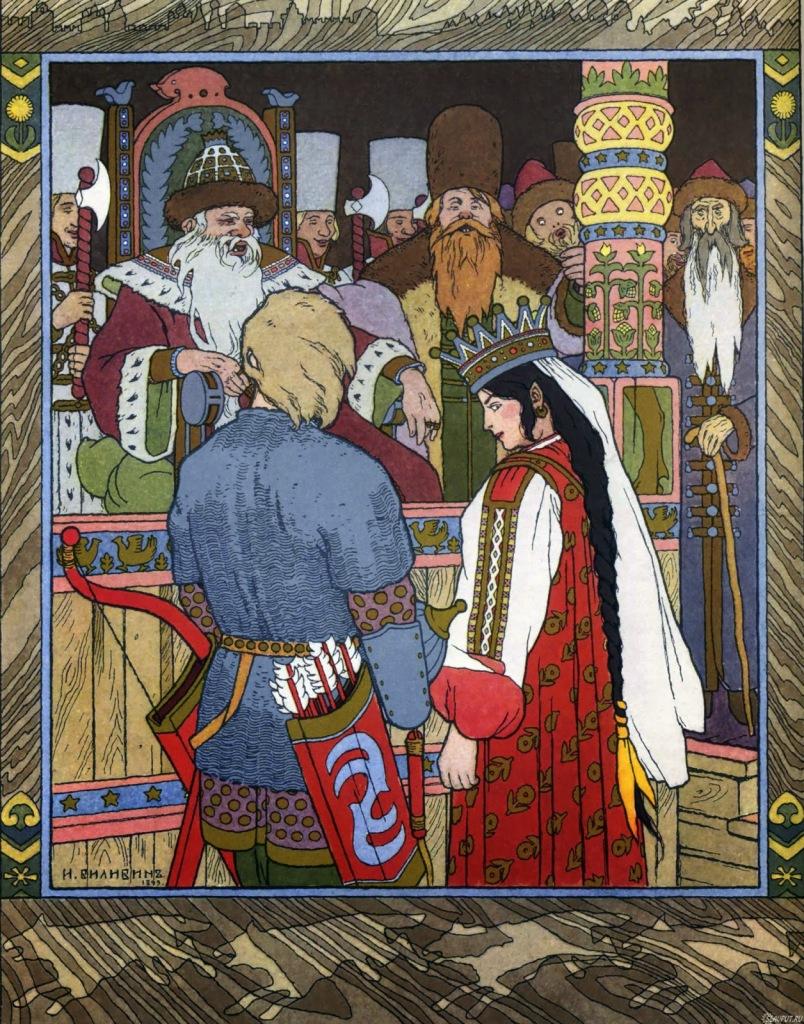 Illustration by Ivan Bilibin.