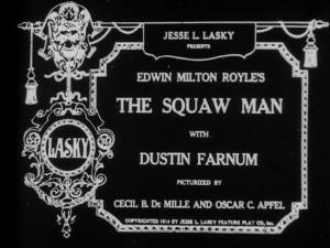 DeMille and Apfel's name below the title. Shows you how they rated in 1914.