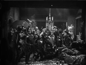 We call it an unbridled orgy. Erich von Stroheim calls it Thursday.