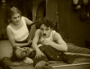 Reportedly, Chaplin took to his bed amidst all the legal battles. I don't blame him.