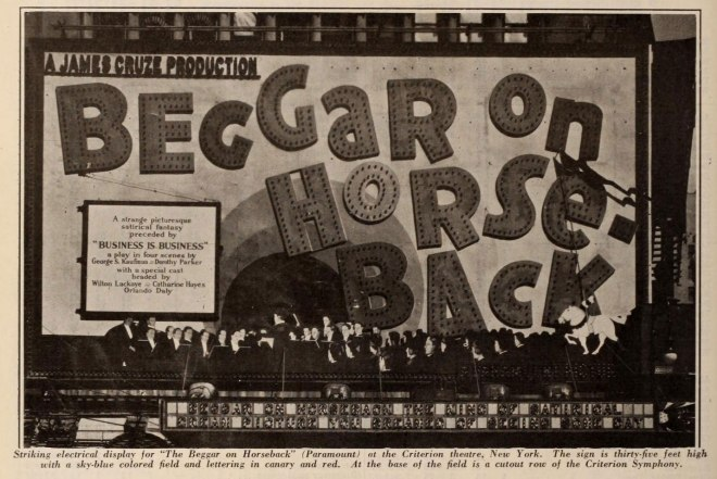 An incomplete copy of this 1925 film survives.