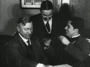 Chaplin signed on with Mutual for an unprecedented sum.