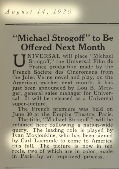 From Motion Picture News